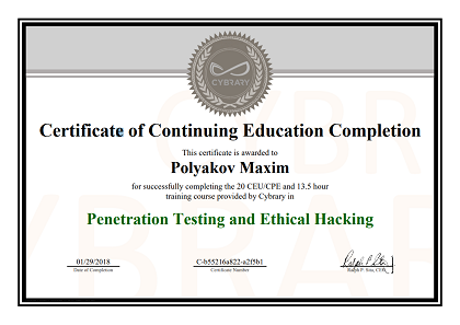 Penetration Testing and Ethical Hacking